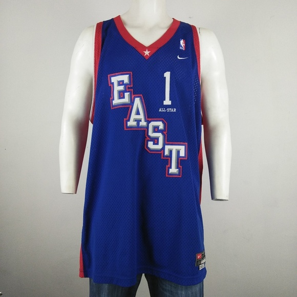 Nike NBA All Star Tracy McGrady  1 East Jersey. M 5aea50602c705d7976293a10 a3a037c82